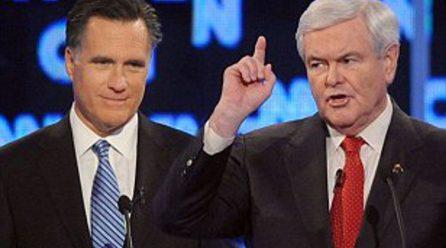 Newt Bounces Check, Santorum Has Hand Out, Paul Controls Spending